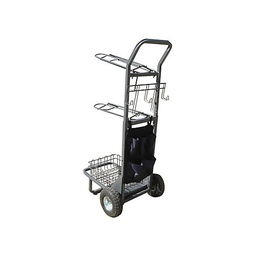 Rolling Saddle Rack Cart by Other
