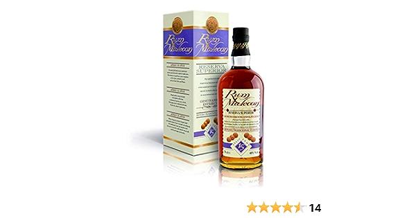 Rum Malecon Añejo 15 Años Reserva Superior Rum 40% - 700 ml in Giftbox