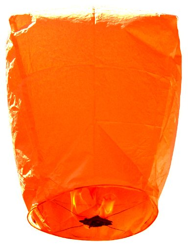 Just Artifacts Eclipse Orange Flying Sky (Floating) Lantern/Kongming Light - Just Artifacts Brand