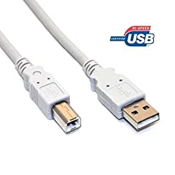10 Feet High-Speed USB 2.0 printer cable A to B for Epson Stylus Pro 4800