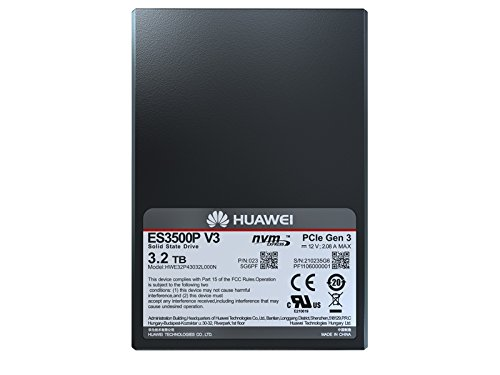 HUAWEI ES3500 V3-3200 NVMe PCIe 3.2TB 2.5-inch Solid State Drive