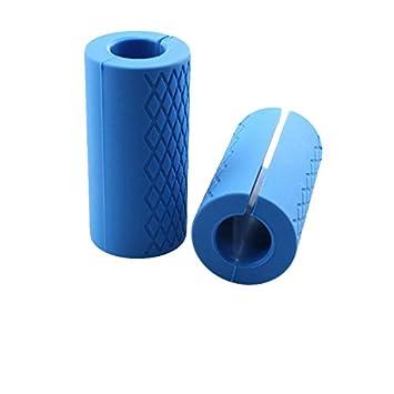 Cozywind Mangos para Barras de musculación,Accesorios de Fitness para Pesas y Mancuernas,Un Par,Azul: Amazon.es: Deportes y aire libre