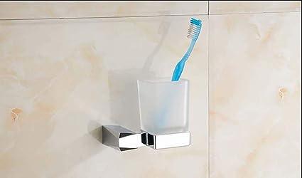 MKFG Productos para el baño, Titular de la Taza de Cepillo de Dientes para el hogar, ...