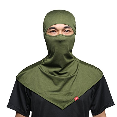 AIWOLV Balaclava Face Mask for Sun Protection Breathable Motorcycle Long Neck Covers in Summer for Men Hiking Fishing Trekking Walking