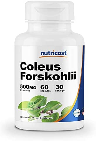 Nutricost Coleus Forskohlii 500mg Capsules product image