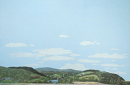 Walthers, Inc. Instant Horizons Eastern Foothills to Country Background Scene, 24 X 36