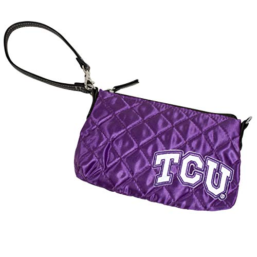 Quilted Frog (NCAA TCU Horned Frogs Quilted Wristlet)