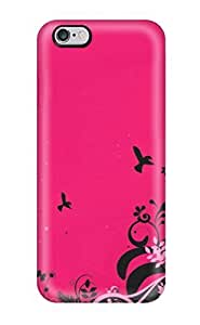 ZippyDoritEduard EsHwALy5443QdZyK Case For Iphone 6 Plus With Nice Pink Abstract Appearance(3D PC Soft Case)