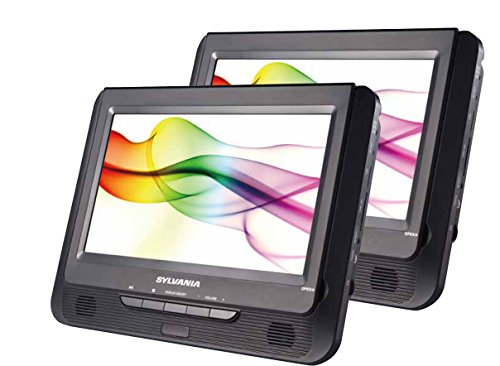 Sylvania Twin Dual Screen DVD Player