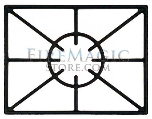 Porcelain Cast Iron Cooking Grid for built-in single side burner by Fire Magic Grills