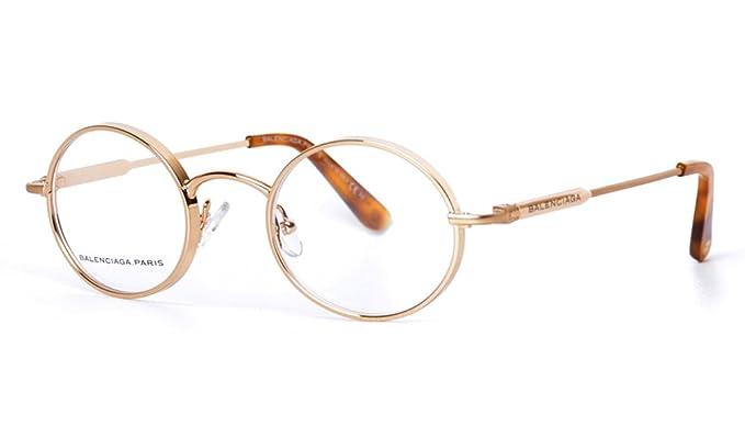 7db630cc8145 Balenciaga Bal 0093 Eyeglasses - Red Gold (Ub0) 45Mm  Amazon.co.uk  Clothing