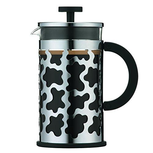 Bodum Cafetera émbolo, Cristal, Negro, Centimeters
