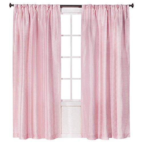 (Simply Shabby Chic® Pleat Silk Panel - Pink (54x84