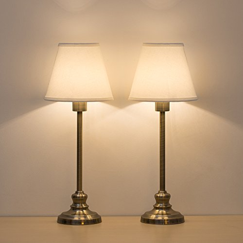 Haitral Set Of 2 Table Lamps Modern Desk Lamp With