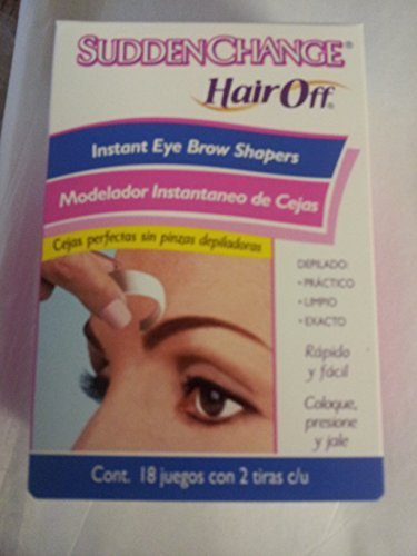 - Sudden Change Hair Off Instant Eyebrow Shapers
