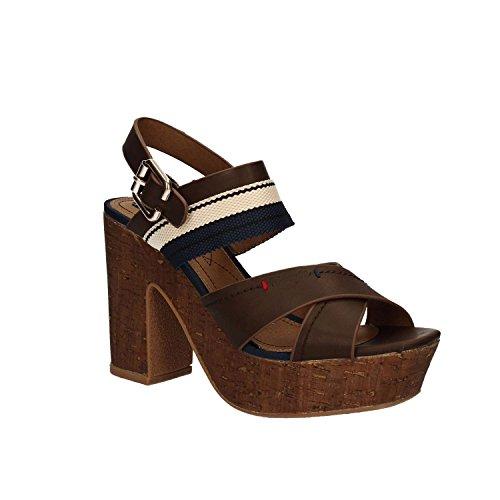 Wrangler WL171670 Sandalen mit Absatz Frauen Braun 37