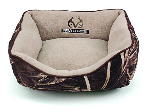 Dallas RR1814-160.3 Realtree Box Bed, Camo with Brown Piping, 18