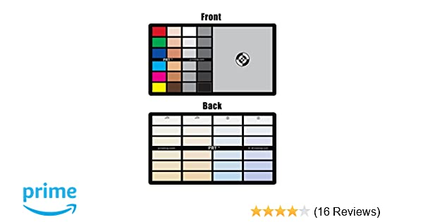 Amazon 3in1 Photo Reference Tool Gray Card Target White