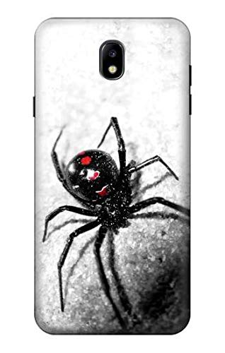 R2386 Black Widow Spider Case Cover for Samsung Galaxy J7 (2018), J7 Aero, J7 Top, J7 Aura, J7 Crown, J7 Refine, J7 Eon, J7 V 2nd Gen, J7 Star