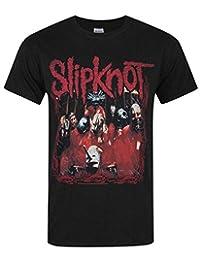 Vanilla Underground Official Slipknot Band Frame Men's T-Shirt