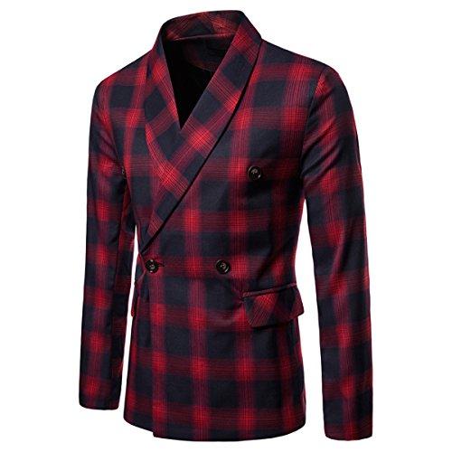 Invachi Red Invachi Red Uomo Blazer Uomo Invachi Red Blazer Blazer Uomo 5nAUqn0rx