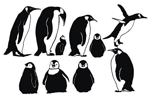 penguin decal - 2