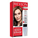 Revlon Root Erase Permanent Hair Color, Medium Brown, 3.2 Fluid Ounce