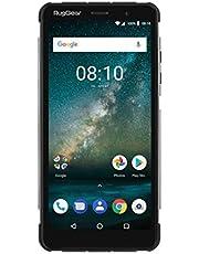 RugGear RG850 robuuste outdoor mobiele telefoon zonder abonnement, waterdicht, schokbestendig, Slim, 6 inch Corning-Gorilla glazen display, Android 8.1 Oreo, Dual-SIM