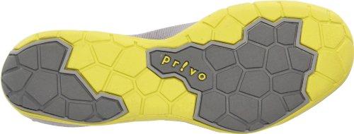 Privo Kvinna Privo Freeform Slip-on Mode Sneaker Grå / Gul Läder