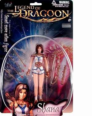 Legend of Dragoon > Shana Action Figure