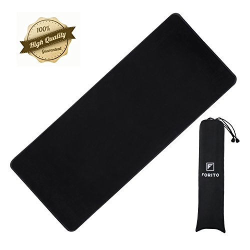 FORITO Extened High Precise Gaming Mouse Pad / Maximize to Enhances Control & Speed of the Mice / No-slip Base / Extends the Battery Life of Wireless Mice- Extened (Extra Extended Life)