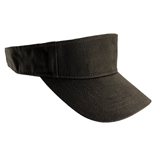 a2366306483 Amazon.com  Enimay Sports Tennis Golf Sun Hook Loop Closure Hats Adjustable  Velcro Plain Bright Colors Black …  Clothing