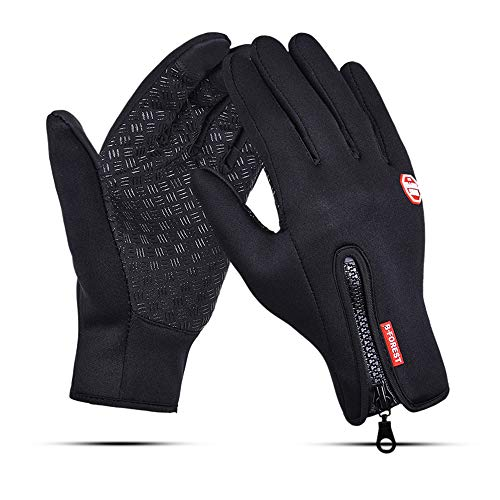 B-FOREST Bicycle Gloves with Touch Screen Fingers Bike Gloves Climbing Gloves Mountain Biking Gloves Fingers Outdoor Sports Gloves for Men & Women (M)