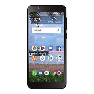 Total Wireless Carrier-Locked TCL LX 4G LTE Prepaid Smartphone - Black - 16GB - Sim Card Included - CDMA