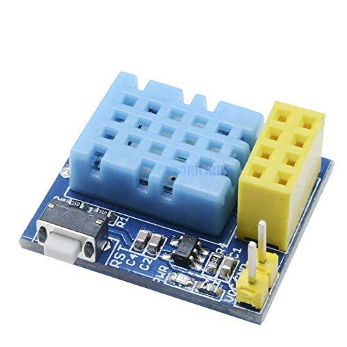 ESP8266 esp01S DHT11 Temperature/&Humidity Wifi Shield Sensor Module M8W1 C5J1