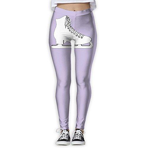 BNSOE Women¡¯s Skinny Yoga Pants Figure Skate Shoes 3D Print Fashion Jogger Pants Workout Running Leggings