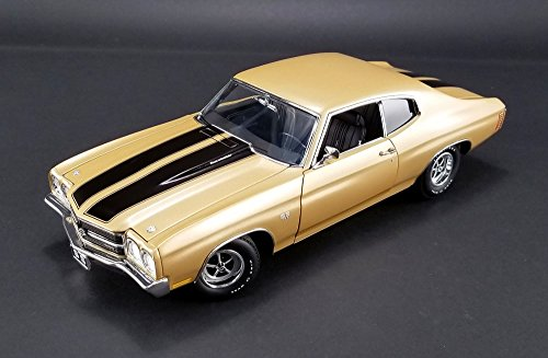 1970 SS 396 Chevelle in Dessert Sand Diecast Model in 1:18 Scale by Acme (Ss 1970 Chevelle 396)