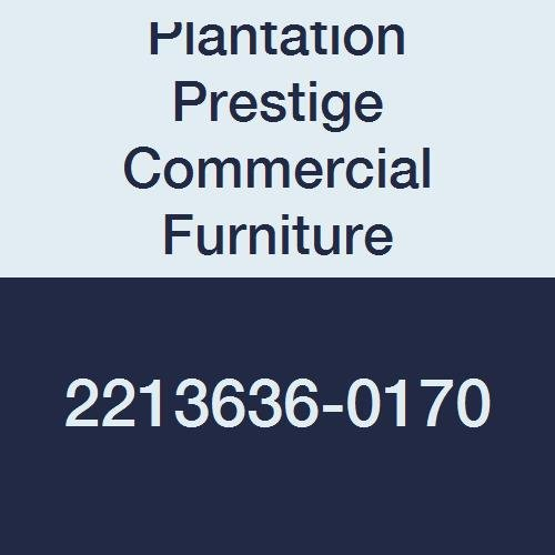 Plantation Prestige Commercial Furniture 2213636-0170 Solid Table Top, Steel Material Type, 36'' x 36'', Platinum by Plantation Prestige Commercial Furniture
