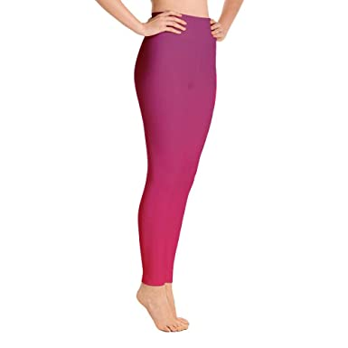 04a2df49e Leggings - Red Ombre at Amazon Women s Clothing store