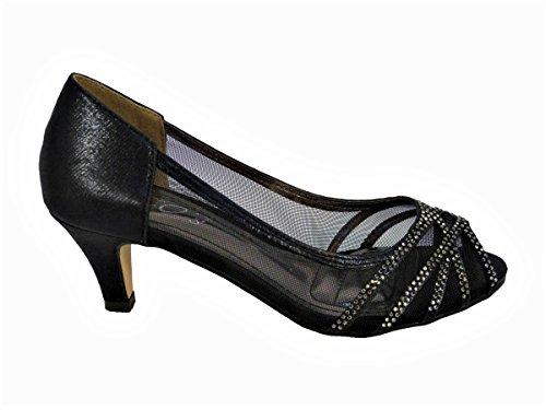Sandales Femme 98 Pour Black SKO'S 913 Y8xAqxp