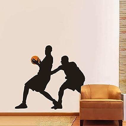 87/x 100/cm Breite:76cm Jumping Basket NBA Kobe Player /étoiles Jordan Slam Dunk graffti Art Autocollant mural pour chambre denfant pour gar/çon noir 30