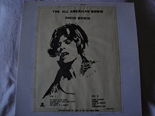 David Bowie & The Spider from Mars, The All American Bowie Vinyl Lp No TMQ TMoQ Live Concert 1973 Long Beach Arena DB 542 Ziggy Stardust Alladin Sane Suffragette City Ex (Ziggy Stardust And The Spiders From Mars 1973)