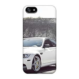 TAMasons EII971XalK Protective Case For Iphone 5/5s(bmw M3 E90 White)