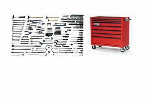 Williams MSC-225TB Metric Maint Service Tool Set with Tool Boxes, 225-Piece