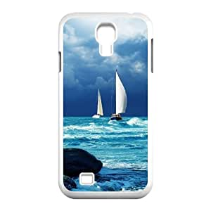 -ChenDong PHONE CASE- For SamSung Galaxy S4 Case -Sailing & Sunset-UNIQUE-DESIGH 16