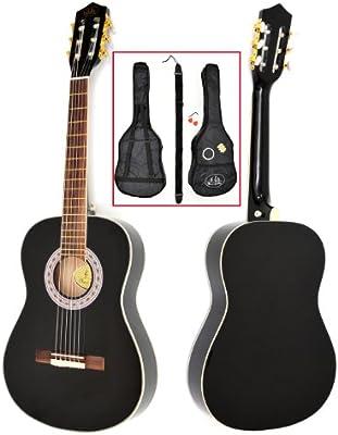 ts-ideen 5290 - Guitarra acústica infantil 3/4 para 9-12 años con ...