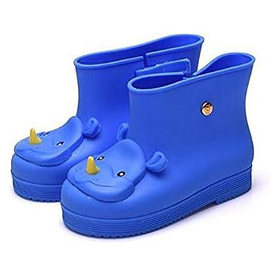 Amazon.com | iFANS Rhinoceros Kids Girls Rain Boots Rubber