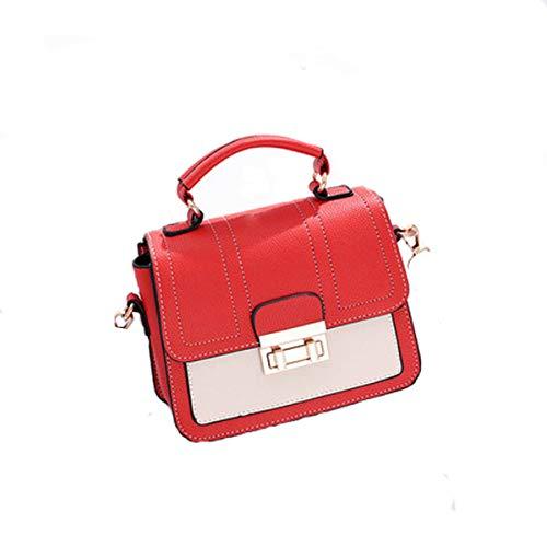 para × xiaohu 8cm Hombro Gris × Mujer Bolso 20cm Red 15cm al q4wC7Sp