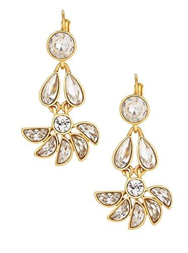 (Kate Spade New York 'Glitter Gala' Chandelier Drop Earrings, Clear)