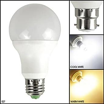 Bombilla LED con sensor automático de crepúsculo a alba – Encendido y apagado automático– Luz Blanca Cálida ...